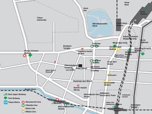 Hotel Edoya - Close to public transport